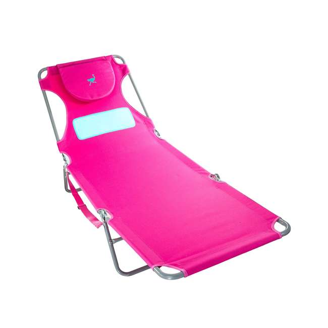 LCL-1006P Ostrich Comfort Lounger Face Down Chaise Beach Chair