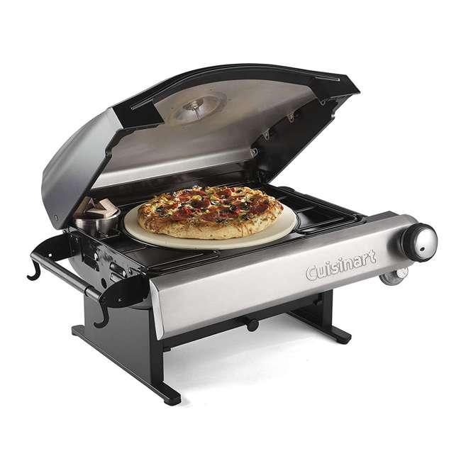 CPO-600 Cuisinart CPO-600 Alfrescamore Gas Powered Portable Outdoor Pizza Oven, Silver 1