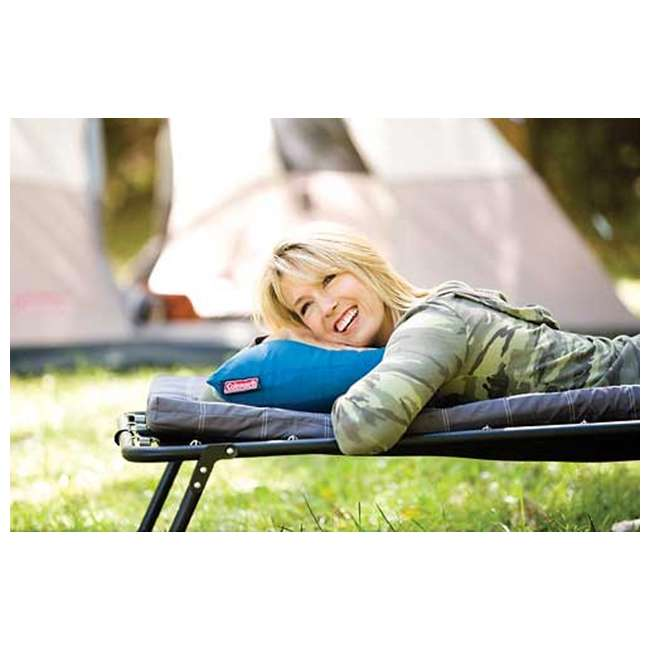 "2000008574 Coleman 12"" x 20"" Fold N' Go Travel Pillow  4"