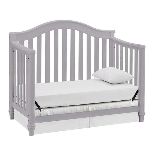 04565-40F Thomasville Kids Auburn 4-in-1 Convertible Baby Crib, Pebble Gray 3