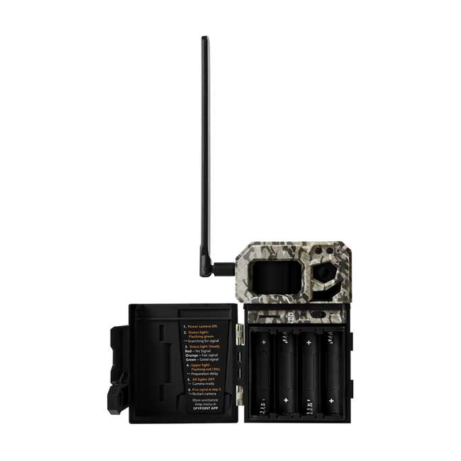 MICROUS + Box SPYPOINT LINK MICRO Nationwide Cellular Hunting Trail Game Camera & Security Box 4