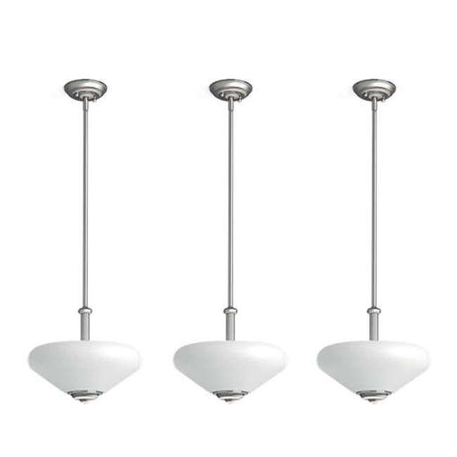 3 x PLC-TC0026217 Philips 60-Watt Veccia Pendant Suspension Light (3 Pack)