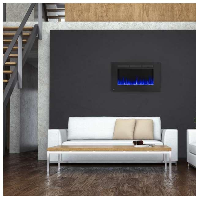 NEFL42FH-OB Napoleon Allure 42-Inch 5000 BTU Wall Hanging Electric Fireplace (Open Box) 1