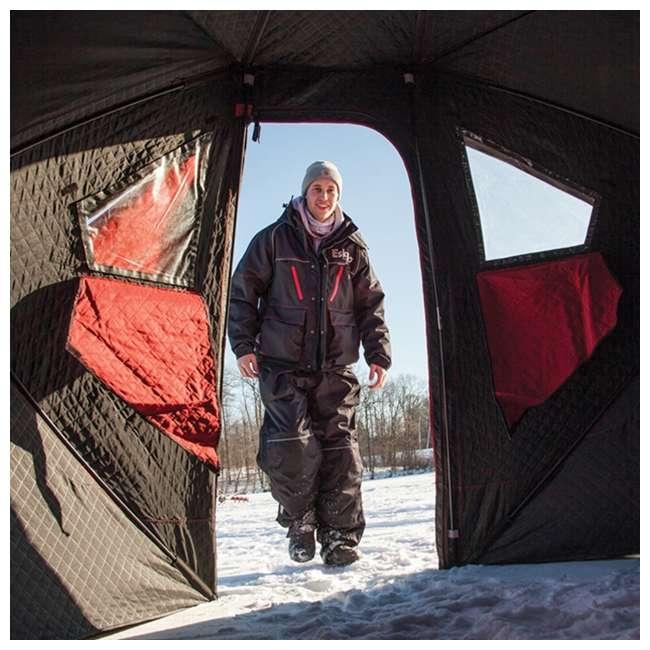 ESK-32100 Eskimo 32100 Outbreak 450i 5-Person Insulated Ice Fishing Shelter 2