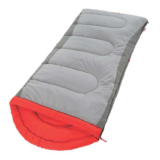 2000018130 Coleman Dexter Point 50-Degree Tall User Sleeping Bag 1