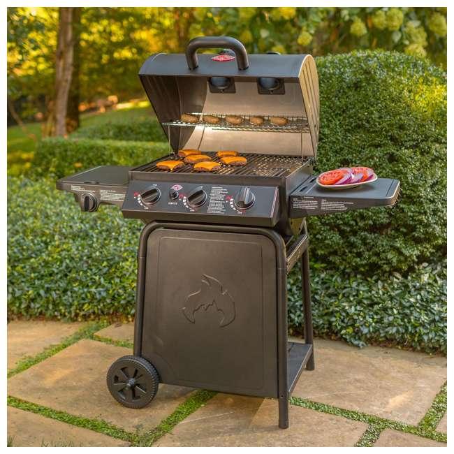 CHAR3001 Char Griller 3-Burner Grillin' Pro Propane Gas Grill 7