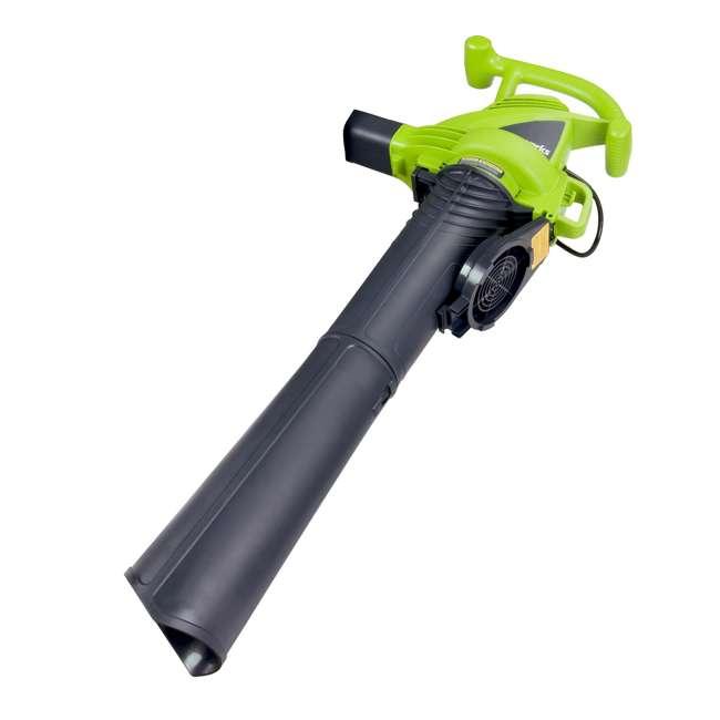 24022 Greenworks 12 Amp Corded Blower/ Vacuum 3