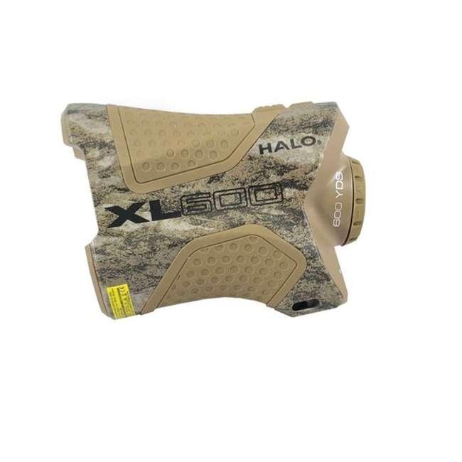 HAL-XL600F51 Halo Optics XL600 Series 600-Yard Laser Range Finder, Bottomlands