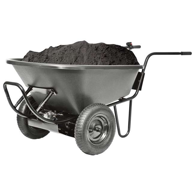 PAW-44019 Decko Powered Garden 24V Battery-Operated Wheelbarrow