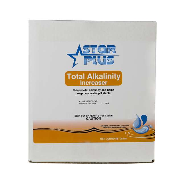 Star Plus Total Alkalinity Increaser For Swimming Pools 25 Pounds 12002418