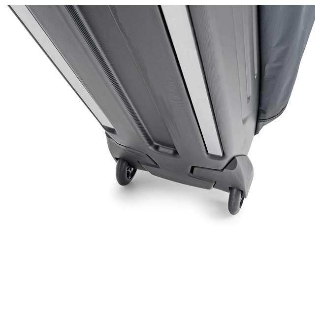 96900 B&W International Padded Lightweight Zippered Bike Bag and Case II, Black 7