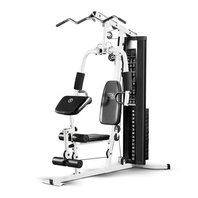 MWM-5115-U-A Marcy Dual-Functioning Upper Lower Body Fitness Workout 150-Pound (Open Box) 1