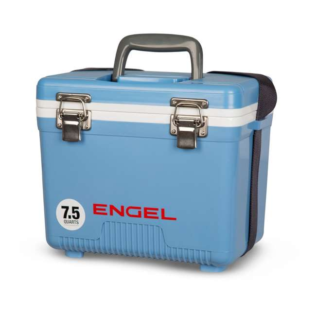 UC7B Engel 7.5-Quart EVA Gasket Seal Ice and DryBox Cooler with Carry Handles, Blue 2