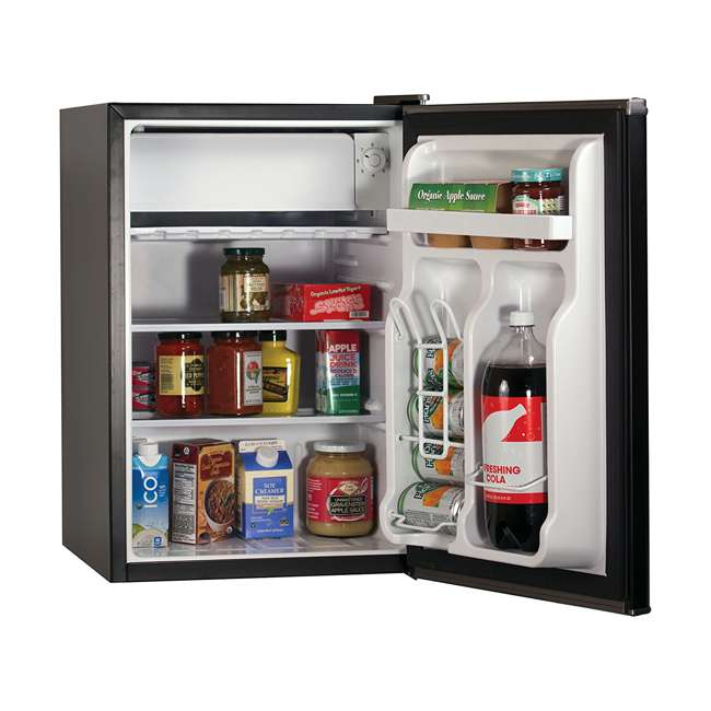 BCRK25B-U-A Black and Decker 2.5 Cubic Foot Energy Star Refrigerator with Freezer (Open Box) 2