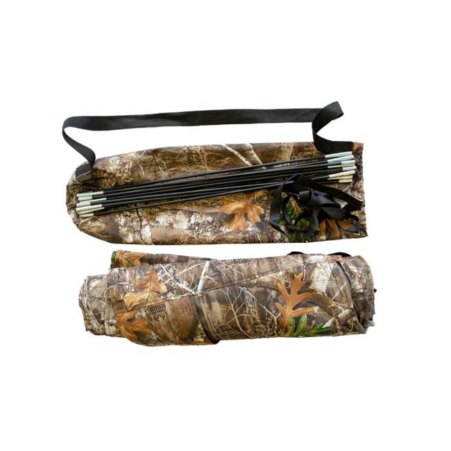 BM5119 Cooper Hunting BM5119 Bow Master RealTree Concealment Cover w/ TM100 Tree Mount 8