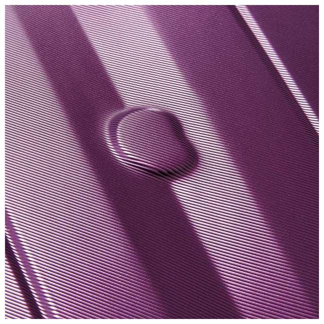 40386582008 DELSEY Paris Comete 2.0 24-Inch Expandable Spinner Upright Travel Bag, Purple 5