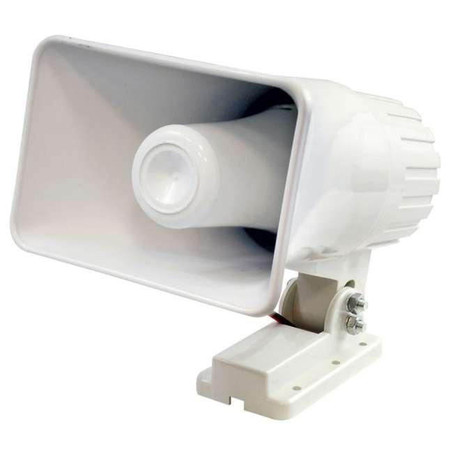 """6 x PHSP4 New Pyle 6"""" 50 Watt Indoor/Outdoor Waterproof Home PA Horn Speaker (6 Pack) 1"""