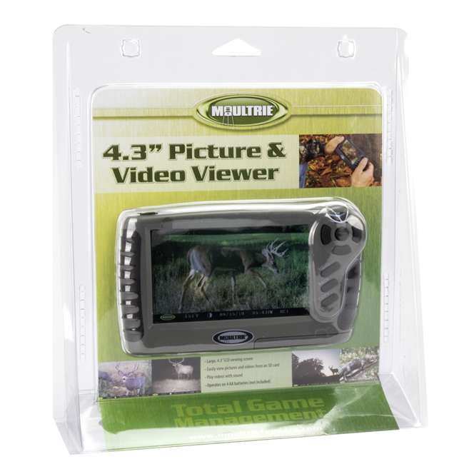 VWR-11MFHP12537 MOULTRIE Game Camera Picture & Video Viewer | VWR-11 6