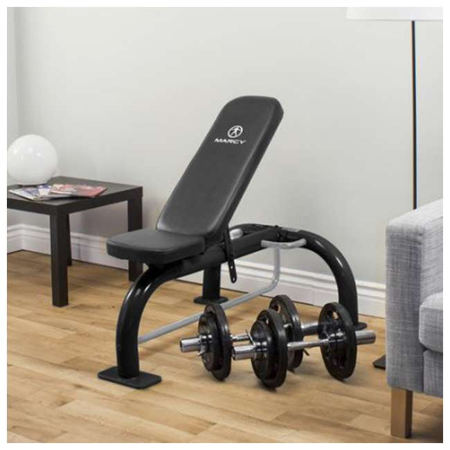 Marcy Six Position Home Gym Workout Utility Slant Board Bench Sb 10900