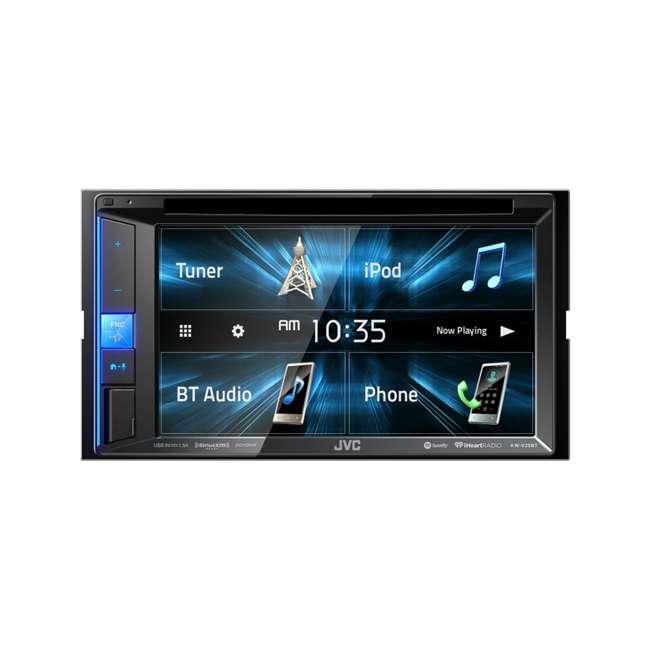 KW-V25BT JVC Mobile KW-V25BT 6.2 inch In-Dash Multimedia DVD Receiver
