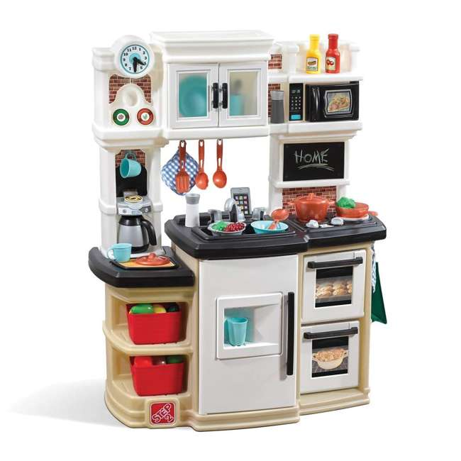 868000 Step2 Great Gourmet Pretend Play Kitchen Set