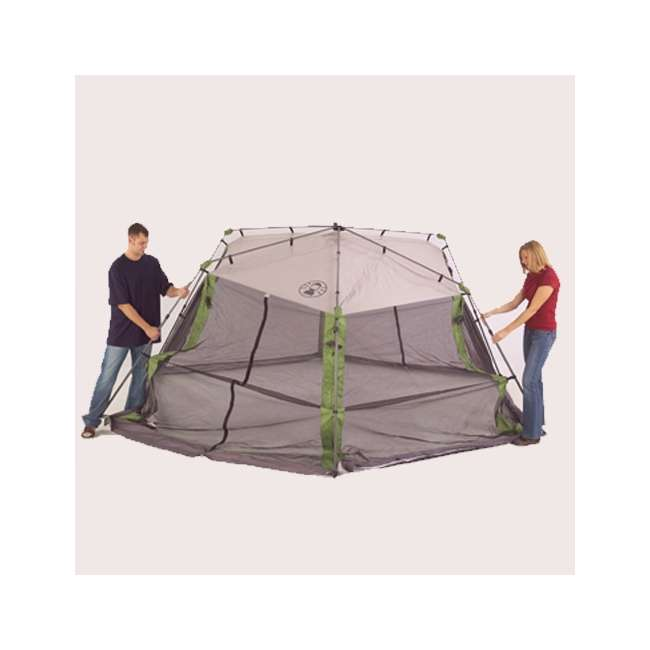 Coleman Instant Screen Shelter : Coleman camping instant screened shelter x canopy