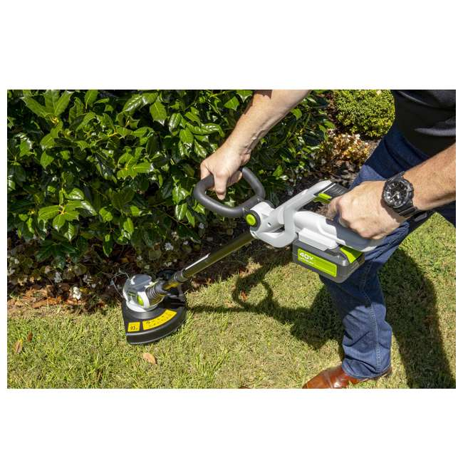 PGT140 + PLB14025 PowerSmith 40V Max Cordless Electric String Trimmer and Edger with Extra Battery 3