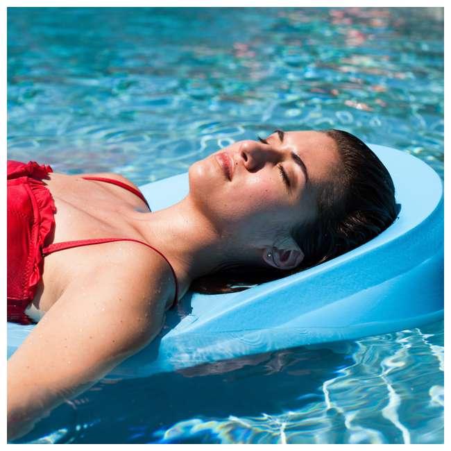 8050028 + 8050026 TRC Recreation Super Soft 70 Inch Foam Pool Float, Marina Blue and Bahama Blue 4