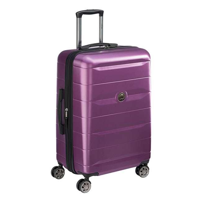 40386582008 DELSEY Paris Comete 2.0 24-Inch Expandable Spinner Upright Travel Bag, Purple 1