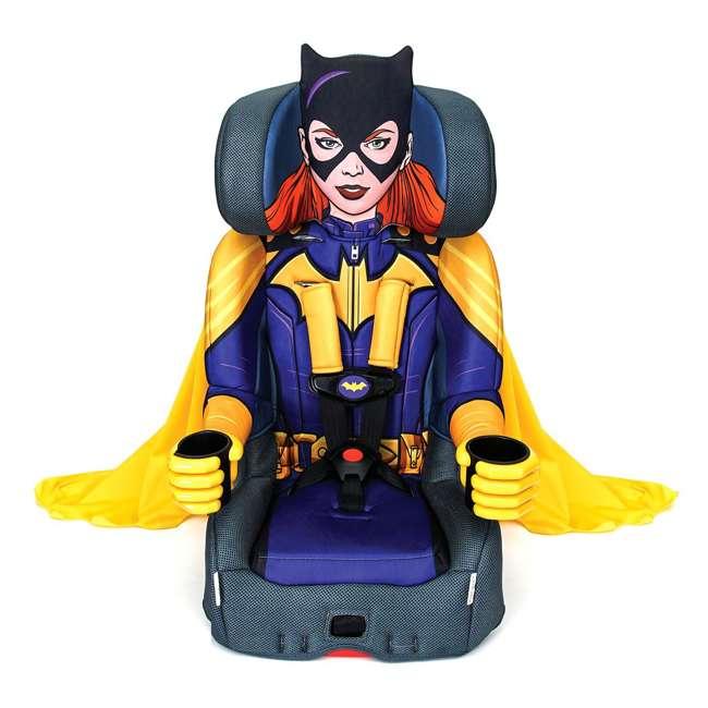 KE-3001BTG Kids Embrace Combination 2 in 1 Booster Forward Facing Car Seat, DC BatGirl