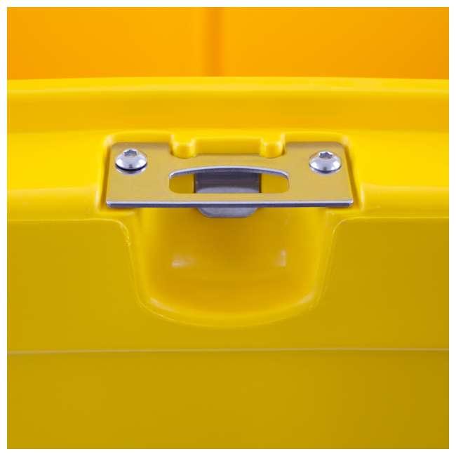DXC45QT DeWalt 45 Quart Insulated Lunch Box Portable Drink Cooler, Yellow 7
