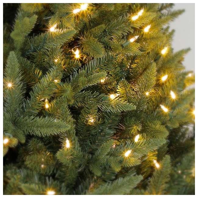 Grow And Stow Christmas Tree.Home Heritage Alaska 7 To 9 Foot Grow Stow Dual Colored Light Artificial Christmas Tree