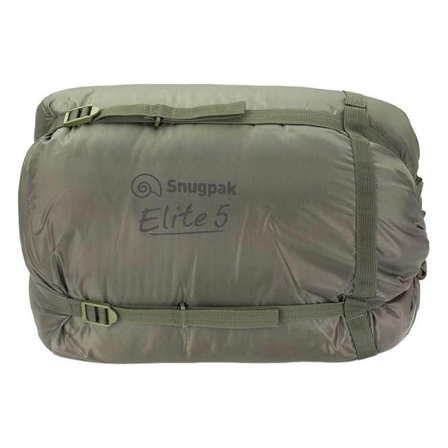 6 x SNUG92840 Snugpak Softie Elite 5 Warm Outdoor Camping Sleeping Bag, Olive (6 Pack) 3