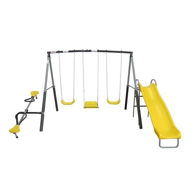 XDP-74560 XDP Recreation Swingin' Again Kids Swing Set with Slide