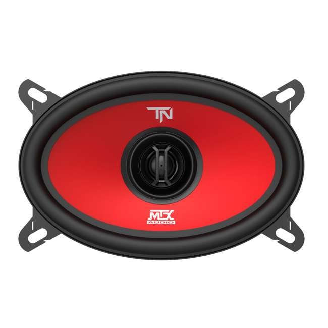 TERMINATOR46 MTX Terminator46 4 X 6 Inch 2 Way Car Speakers 1