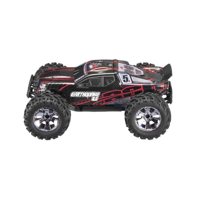EARTHQUAKE3.5-NEW-RED Redcat Racing Earthquake 3.5 1/8 Scale Nitro Remote Control Monster Truck Toy 1
