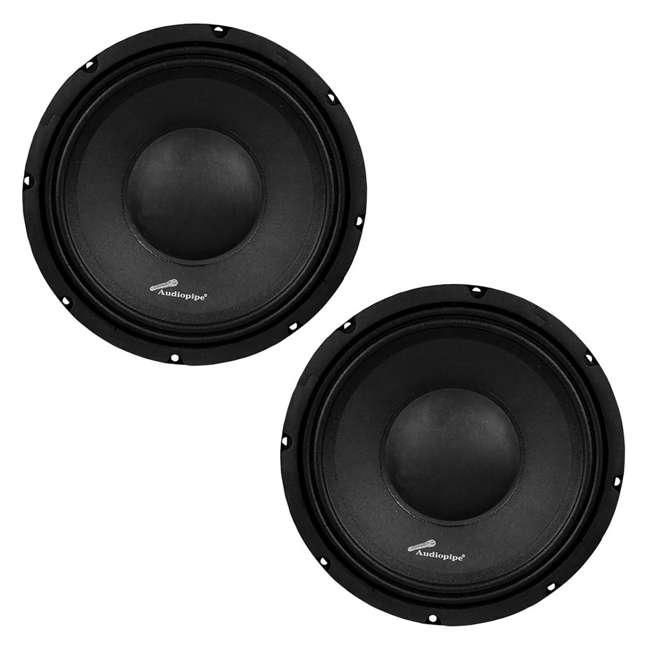 APSP-1050 Audiopipe APSP-1050 10-Inch 700-Watt Mid-Range Loudspeaker (2 Pack)