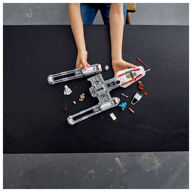 6251743 LEGO 75249 Resistance Y-Wing Starfighter Block Building Kit w/ 5 Minifigures 4