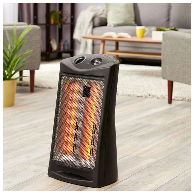 LIM-19-100006 Limina Portable Home Office Electric 1500W Infrared Quartz Room Space Heater 1