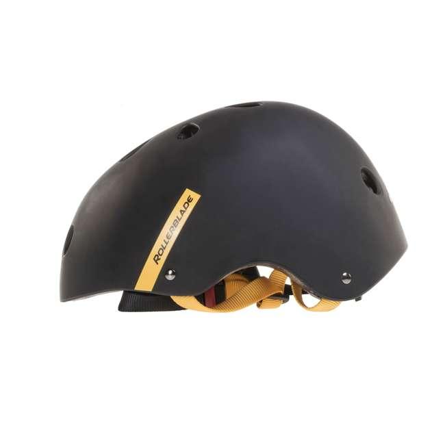 7955300500-6 + 06320200001-M + 067H0310800-L Rollerblade USA Women's Size 6 Rollerblades + Pads + Helmet 10