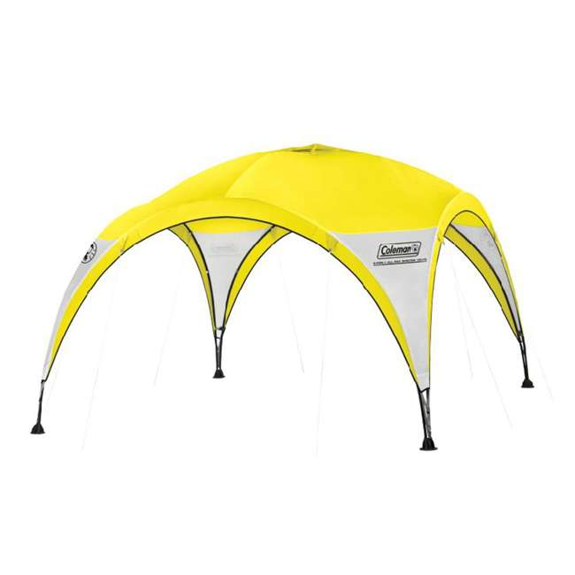 Coleman Two Person 2 For 1 All Day Dome Tent W Shelter