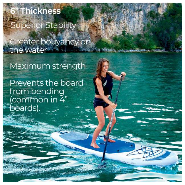 65303-BW Bestway Hydro-Force Inflatable Oceana Stand Up Paddle Board  4