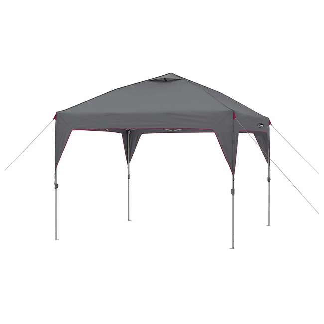 CORE-40071 CORE 10 Foot by 10 Foot Instant Outdoor Sun Shade Canopy, Gray
