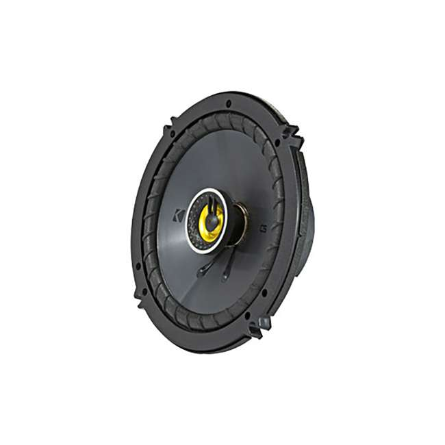 46CSC654 Kicker CS Series CSC65 6.5 Inch Car Audio Speaker with Woofers, Yellow (4 Pack) 2