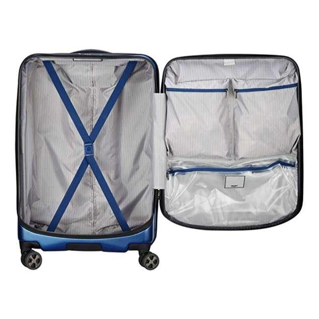 """40207982002 DELSEY Paris Cruise Lite 2.0 25"""" Hardside Expandable Suitcase Travel Bag, Blue 3"""