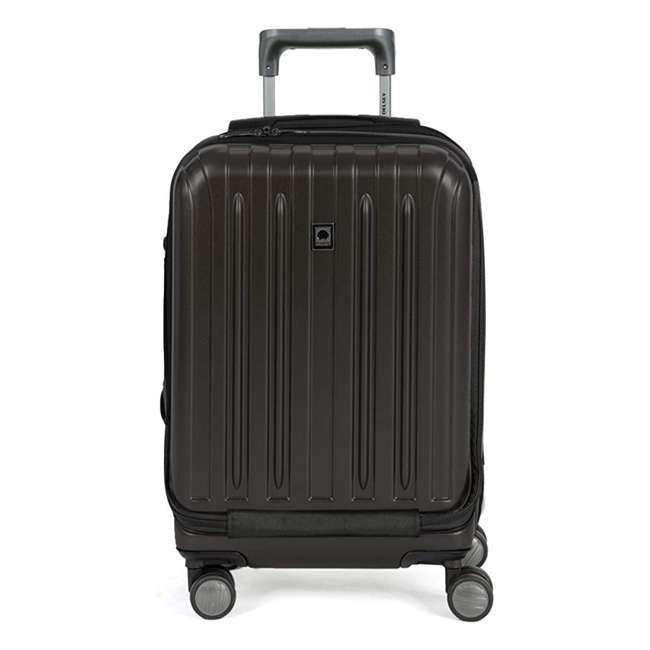 00207180100 DELSEY Paris Titanium International Carry On Spinner Rolling Luggage Suitcase