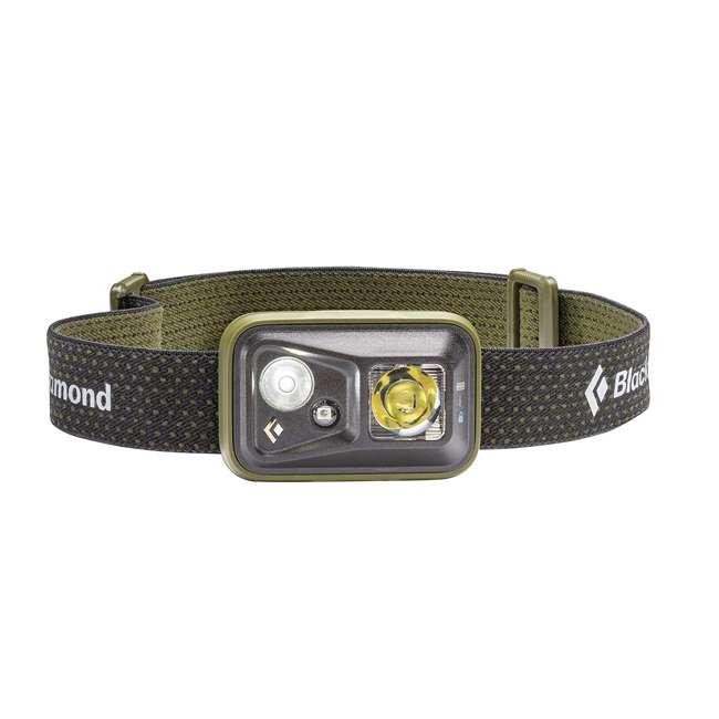 BD620634DOLVALL1 Black Diamond LED 300 Lumen Adjustable Elastic Band Spot Headlamp, Burnt Olive
