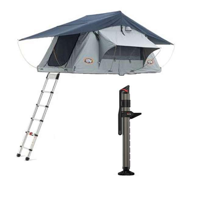 01KSK041601 + 1060001 Tepui Tents Explorer Kukenam 3-Person Car Camp Roof Top Tent & Hydraulic Jack