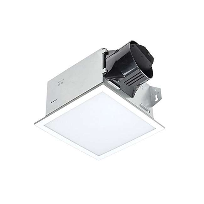 ITG100ELED Delta Electronics BreezIntegrity 100 CFM Bath Fan Edge Lit Dimmable LED Light