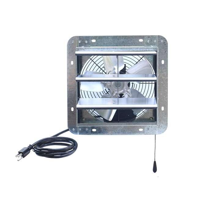 ILG8SF10V-T iLiving ILG8SF10V-T 3 Speed 10 Inch Exhaust Attic Garage Grow Fan w/ Thermostat